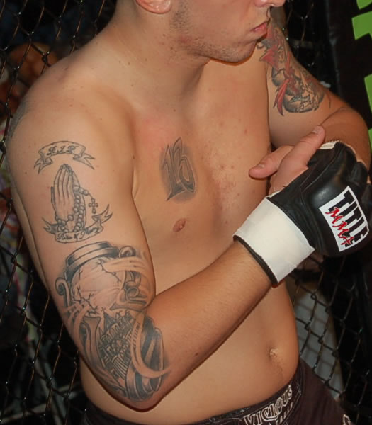 MCC 14 MMA Tattoos - Chris Perez