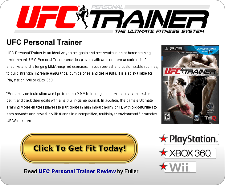 UFC Personal Trainer - Click to get it now!