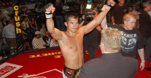 MCC Welterweight Champion Bobby Voelker
