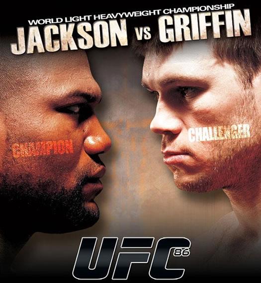 UFC 86 Poster