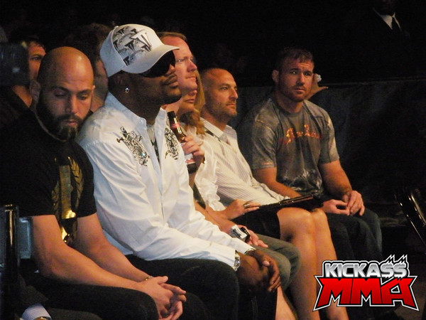 Rampage Jackson UFC 87 - Click here to find photos from UFC 87!